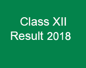 Result Class XII