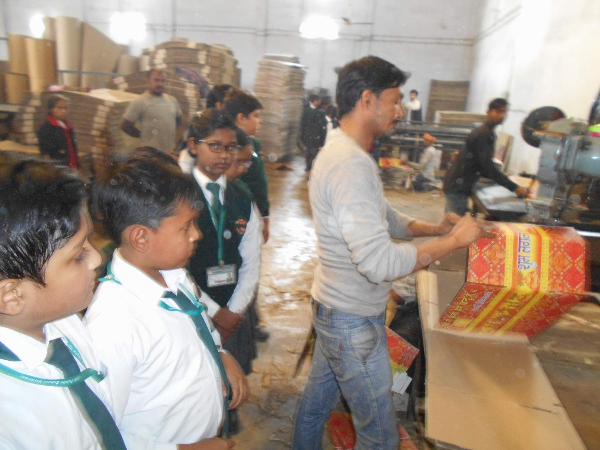 a visit to biscuit factory in delhi Kids work in the biscuit factory and manufacture their own packet of biscuits  teams of young engineers get the opportunity to use kid-sized machinery.